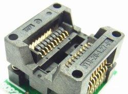画像1: SOP テストソケット(DIP変換) 20ピン以下使用可能 ナロータイプ