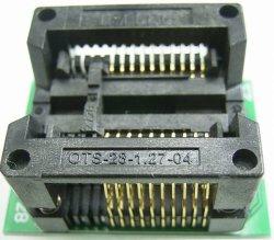 画像2: SOP テストソケット(DIP変換) 20ピン以下使用可能 ワイドタイプ