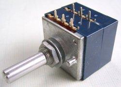 画像1: アルプス製 2連ボリューム(ボリウム)RK27 100kΩA