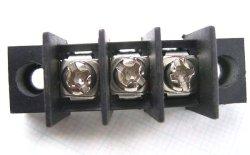 画像1: 7.62mmピッチ端子台(ターミナルブロック) 3P ネジ止め