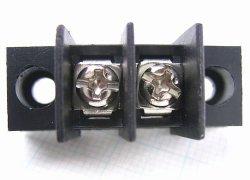 画像1: 7.62mmピッチ端子台(ターミナルブロック) 2P ネジ止め