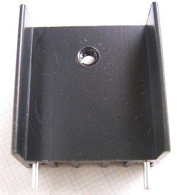 画像1: 放熱板 基板取付け用 23×25×16mm