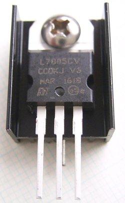 画像5: 放熱板 基板取付け用 15×25×10mm