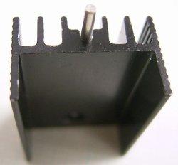 画像3: 放熱板 基板取付け用 15×25×10mm