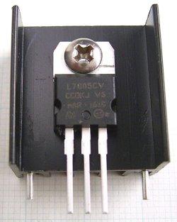 画像5: 放熱板 基板取付け用 23×25×16mm