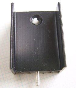 画像1: 放熱板 基板取付け用 15×25×10mm
