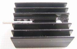 画像2: 放熱板 基板取付け用 15×25×10mm