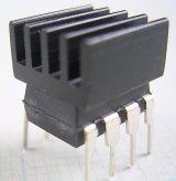 放熱板 DIP8用  8.8mm × 8.8mm × 5.0mm 2個